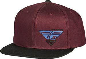Fly Racing Adult Choice Port/Blue Snapback Hat