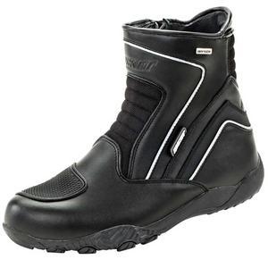 Joe Rocket Meteor FX Mid Waterproof Motorcycle Boots Black Mens Size 7