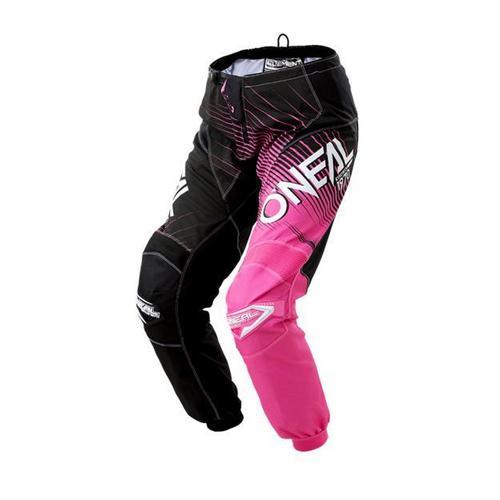 ONeal Element Racewear Womens Pants Black/Pink (Pink, 9/10)