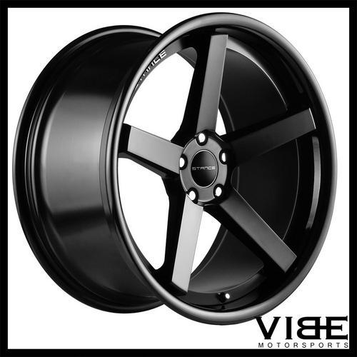 20 Stance Sc5 Black Concave Wheels Rims Fits Benz W211 E350 E500