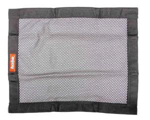 RACEQUIP 18 x 24 in Rectangle Black Window Net P/N 723003