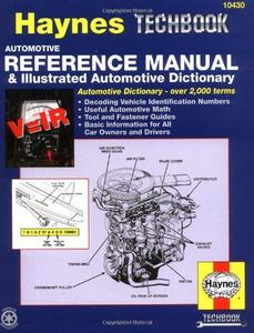 Haynes Automotive Reference Manual & Illustrated Automotive Dictionary Haynes