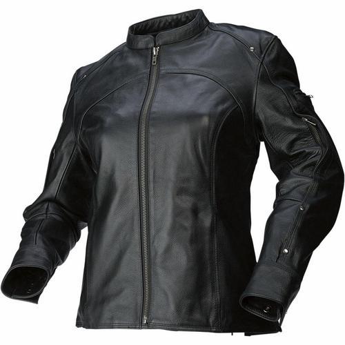 Z1R 243 Womens Jacket (Black, Large)