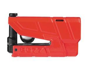 Abus 70440 Granit Detecto X-Plus 8077 Alarm Disc Lock - Red
