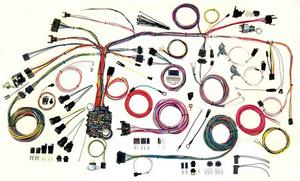 American Autowire Wiring System Firebird 1967-68 Kit P/N 500886