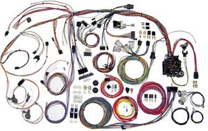 American Autowire Wiring System Chevelle 1970-72 Kit P/N 510105