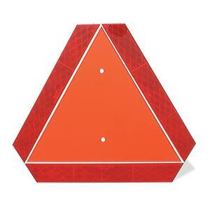 Grote Slow-Moving Vehicle Emblem - Orange & Red (71152)