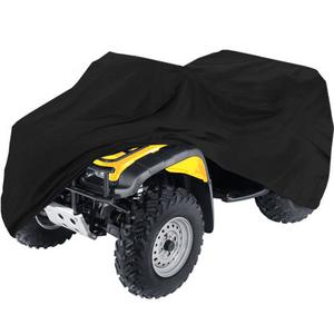 "HEAVY DUTY WATERPROOF ATV COVER FITS UP TO 99"" LENGTH SUPERIOR ATV COVERS 4-WHEELER 4X4 BLACK COLOR, POLARIS, SUZUKI, YAMAHA, KAWASAKI, HONDA, ATV COVER RANCHER, FOREMAN, FOURTRAX, RECON"