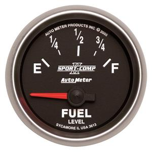 AutoMeter 3613 Sport-Comp II Electric Fuel Level Gauge