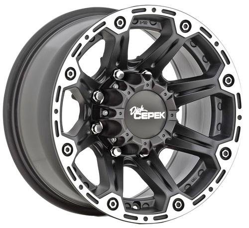 Mickey Thompson 90000000066 Dick Cepek Torque Wheel  17x8.5 in 5x5 in 5 in