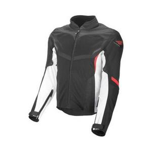 Fly Racing Airraid Mesh Jacket White/Black/Red (Black, Small)