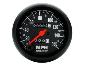 AutoMeter 2694 Z-Series In-Dash Mechanical Speedometer