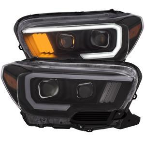 Anzo USA 111377 Projector Headlight Set Fits 16-18 Tacoma