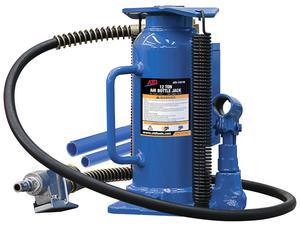 ATD Tools 12-Ton Heavy-Duty Hydraulic Air-Actuated Bottle Jack with Heavy Duty