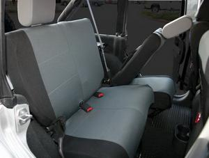 Rampage 5057821 Custom Fit Polycanvas Seat Cover Fits Wrangler Wrangler (JK)
