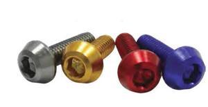 DRC D58-52-735 Taper Bolts - M6 x 35mm - Red (20 pk)