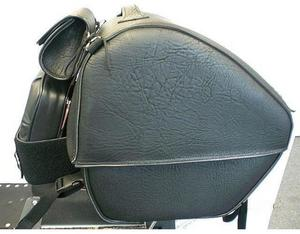 All American Rider 81/905RVT Large Trunk Rack Bag - Studded