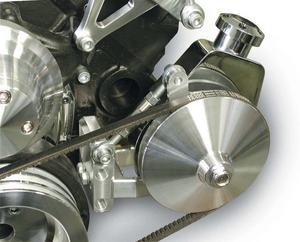 MARCH SBC Driver Side Adjustable Power Steering Pump Bracket Kit P/N 20112