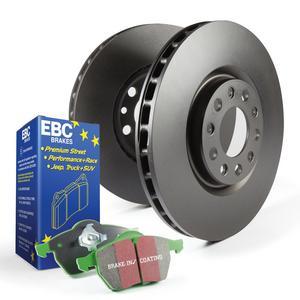 EBC Brakes S11KF1358 S11 Kits Greenstuff 2000 and RK Rotors