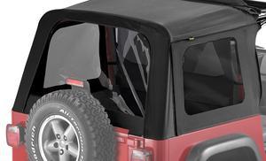 Bestop Replacement Window Set, Tinted - Jeep 1997-2002 Wrangler