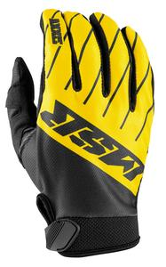 MSR Axxis Youth Gloves Black/Yellow/Gray (Yellow, Medium)