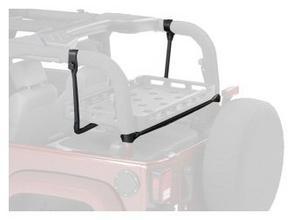 Bestop HighRock 4X4? Lower Cargo Rack Bracket 03-17 Jeep Wrangler 41437-01