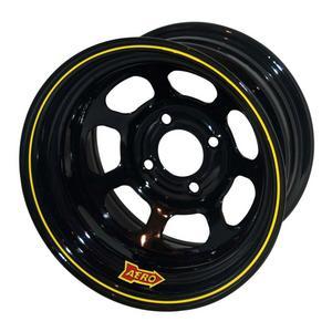 AERO RACE WHEELS 30-Series 13x7 4x4.25 Black Wheel P/N 30-174220