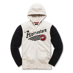 Alpinestars Chief Fleece Hoody Off-White (White, Large)