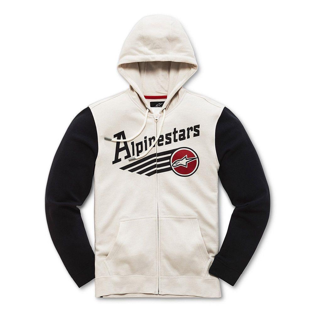 Alpinestars Chief Fleece Hoody Off-White (White, Small)