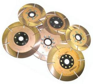 ACE 1-1/8 x 10 Spline 7-1/4 in Diameter Clutch Disc 3 pc P/N R725103K3