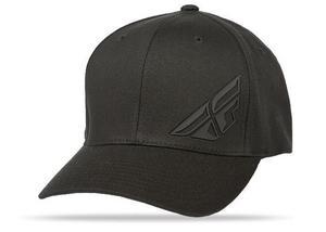 Fly Racing F-Wing Hat (Black, Small - Medium)