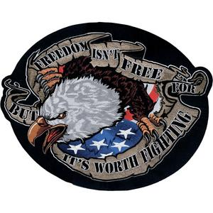 Lethal Threat LT30094 Freedom Eagle Embroidered Patch