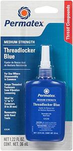 Medium Strength Threadlocker BLUE, 36 ml bottle (24240)