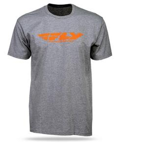 Fly Racing Corporate Standard Youth T-Shirt (Gray, Small)