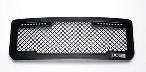 Putco 270535BL Boss Grille Fits 15-18 Sierra 2500 HD Sierra 3500 HD