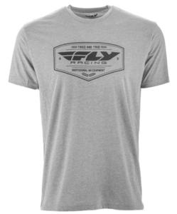 Fly Racing Pathfinder T-Shirt Dark Heather Gray (Gray, Medium)