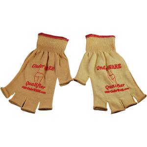 PC Racing Qualifier Glove Liners Tan (White, X-Large)