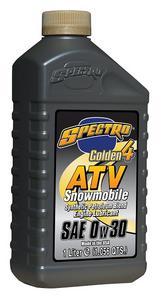 Spectro Golden-4 ATV/Snowmobile Semi-Synthetic Engine Oil 0W30 1 Liter