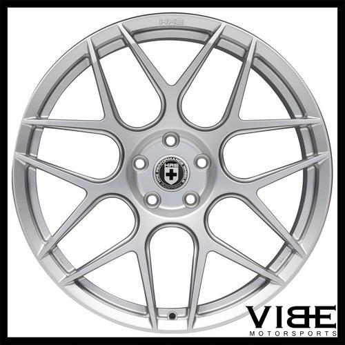 19 Hre Ff01 Flow Form Silver Concave Wheels Rims Fits Bmw E90 325
