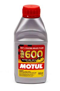 Motul USA DOT 4 Brake Fluid 500ml Each P/N 100949