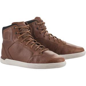 Alpinestars J-Cult Drystar Shoes (Brown, 7)