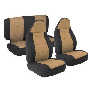 Smittybilt 471325 Neoprene Seat Cover 03-06  Wrangler (LJ) & (TJ) Front/Rear