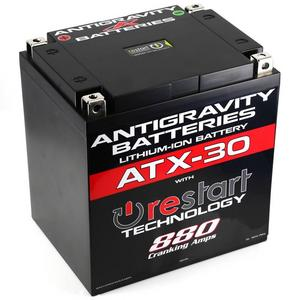 Antigravity Batteries AG-ATX30-RS RE-START Lithium-Ion Battery - YTX30 Case Style