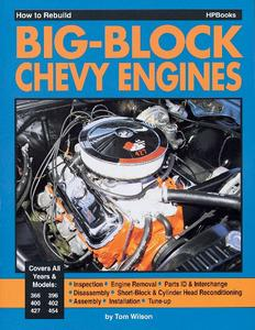 HP Books How to Rebuild Big-Block Chevy Engines P/N HP755