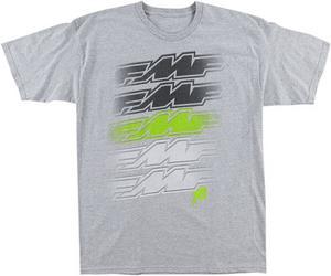FMF Racing Adult Shaded Tee T-Shirt Grey L