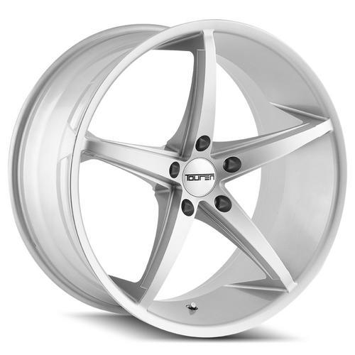 """Touren TR70 20x8.5 5x120 +30mm Silver Wheel Rim 20"""" Inch"""