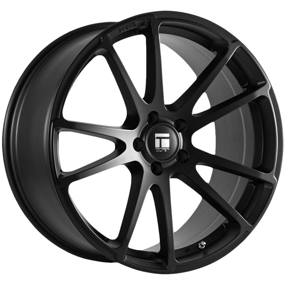 "Touren TF03 Flow Formed 18x8 5x100 +40mm Matte Black Wheel Rim 18"" Inch"