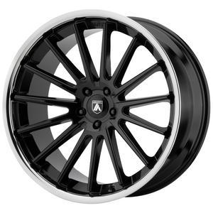 """Asanti ABL-24 Beta 22x10.5 5x115 +25mm Gloss Black Wheel Rim 22"""" Inch"""