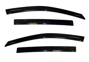 Fits 16-19 CX-3 Auto Ventshade 194265 Ventvisor In-Channel Deflector 4 pc