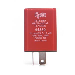Grote 2 terminal, 12-Lamp, Electromechanical Flasher (44530)